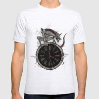Guardian of Time Mens Fitted Tee Ash Grey SMALL