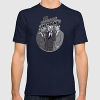 Rat Pack Mens Fitted Tee Navy SMALL