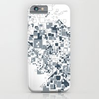 iPhone & iPod Case featuring Broken and pixels  by BEADLER Design and Illustration