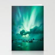 Aurora Borealis. Stationery Cards