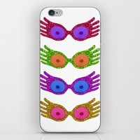 Luna's Spectrespecs iPhone & iPod Skin