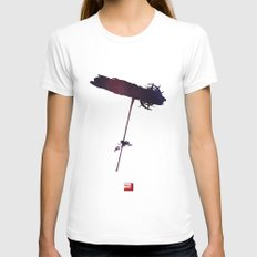 Mass Effect 2 (w/quote) Womens Fitted Tee White SMALL
