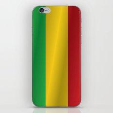 Flag of Mali iPhone & iPod Skin