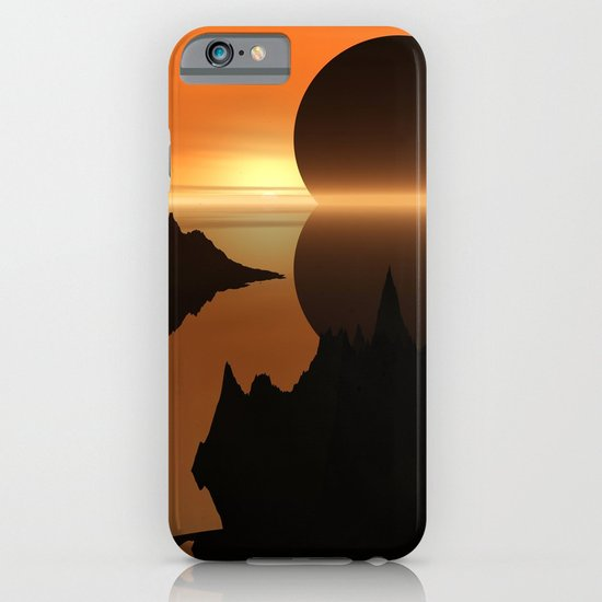 Sunset, Elsewhere iPhone & iPod Case