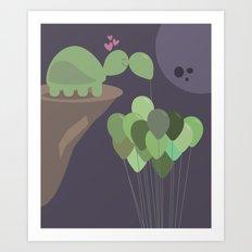 A Sad Love Art Print