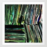 Are We Recording Art Print