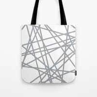 To The Edge Grey Tote Bag