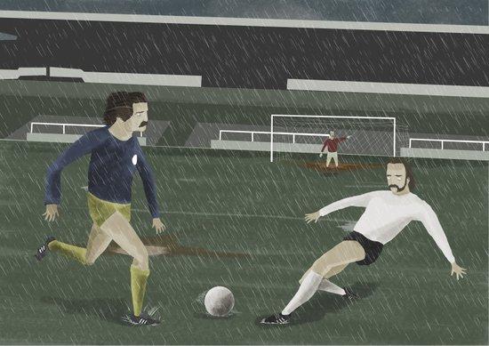 Matchday Art Print