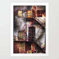 Urban Building Art Print