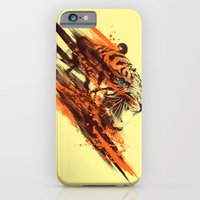 iPhone & iPod Case featuring tigra by Steven Toang