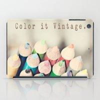 Color it Vintage iPad Case
