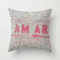 I Am Art Throw Pillow