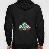 Cute Monster With Cyan A… Hoody