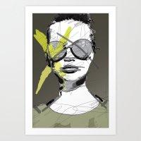 Camo-Chic Art Print