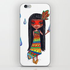 A menina que chovia iPhone & iPod Skin