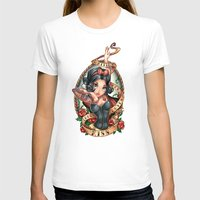 kiss T-shirts featuring Waiting For Loves True Kiss by Tim Shumate