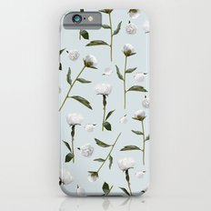 Peonies Winter Mist Slim Case iPhone 6s