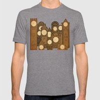 Points in time Mens Fitted Tee Tri-Grey SMALL
