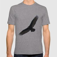 No worries Mens Fitted Tee Athletic Grey SMALL