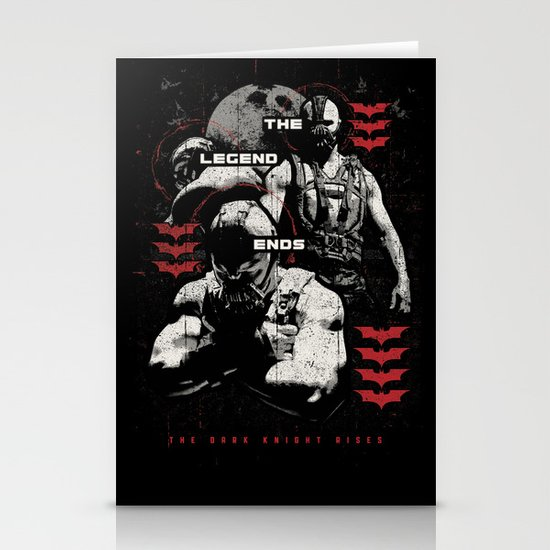 In Ashes Stationery Card