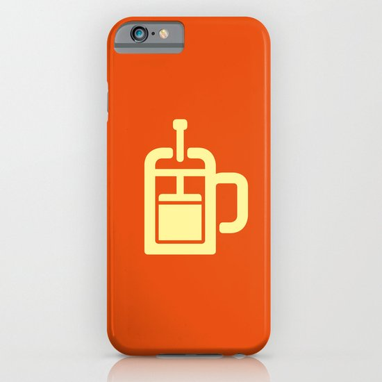 Coffee: The French Press iPhone & iPod Case