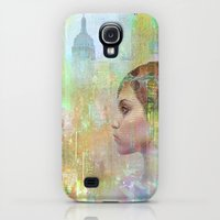 Galaxy S4 Cases featuring if you go away by Ganech joe