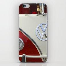 Samba microbus hippiebus Volkswagen iPhone & iPod Skin