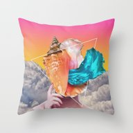 Wispers Throw Pillow