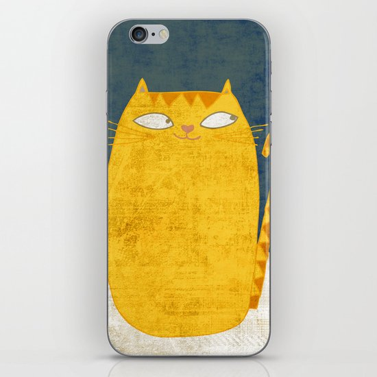 Cat-mouse friendship iPhone & iPod Skin
