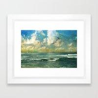 By the Sea Framed Art Print