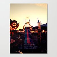 Fun Slide Canvas Print