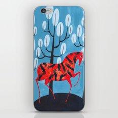 Smug Red Horse iPhone & iPod Skin
