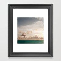 Seascape No. 2 Framed Art Print