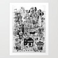 HONG KONG CLUB Art Print