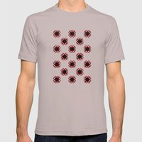 Smoke pattern Mens Fitted Tee Cinder SMALL