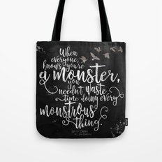 Six Of Crows - Monster -… Tote Bag