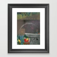 atmosphere 46 · El Captain Framed Art Print