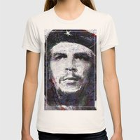 Che Guevara Womens Fitted Tee Natural SMALL