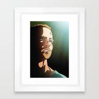 187 (Jesse Pinkman - Bre… Framed Art Print