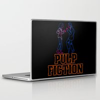 pulp fiction Laptop & iPad Skins featuring Pulp Fiction by Studio 401