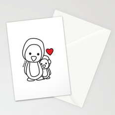 Penguin Sweetness Stationery Cards