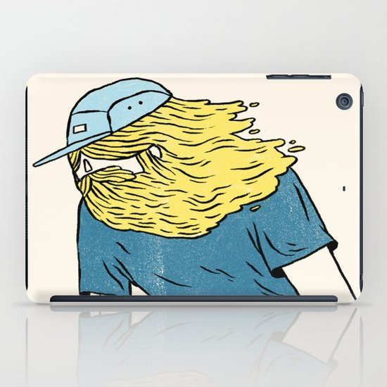 Skate Beard iPad Case