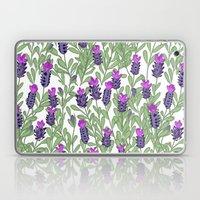 April Blooms(lavender) Laptop & iPad Skin