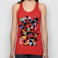Abstraction Repeat #3 Unisex Tank Top
