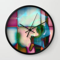 Body Language 18 Wall Clock