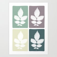 color block 4: muted Art Print