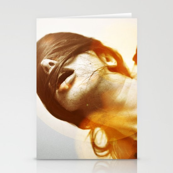la femme phoenix Stationery Card