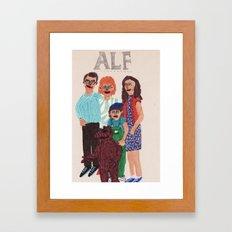 Alf Framed Art Print