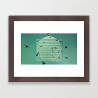 Fractions 02 Framed Art Print