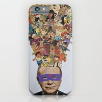 iPhone Cases featuring toons by Canson City